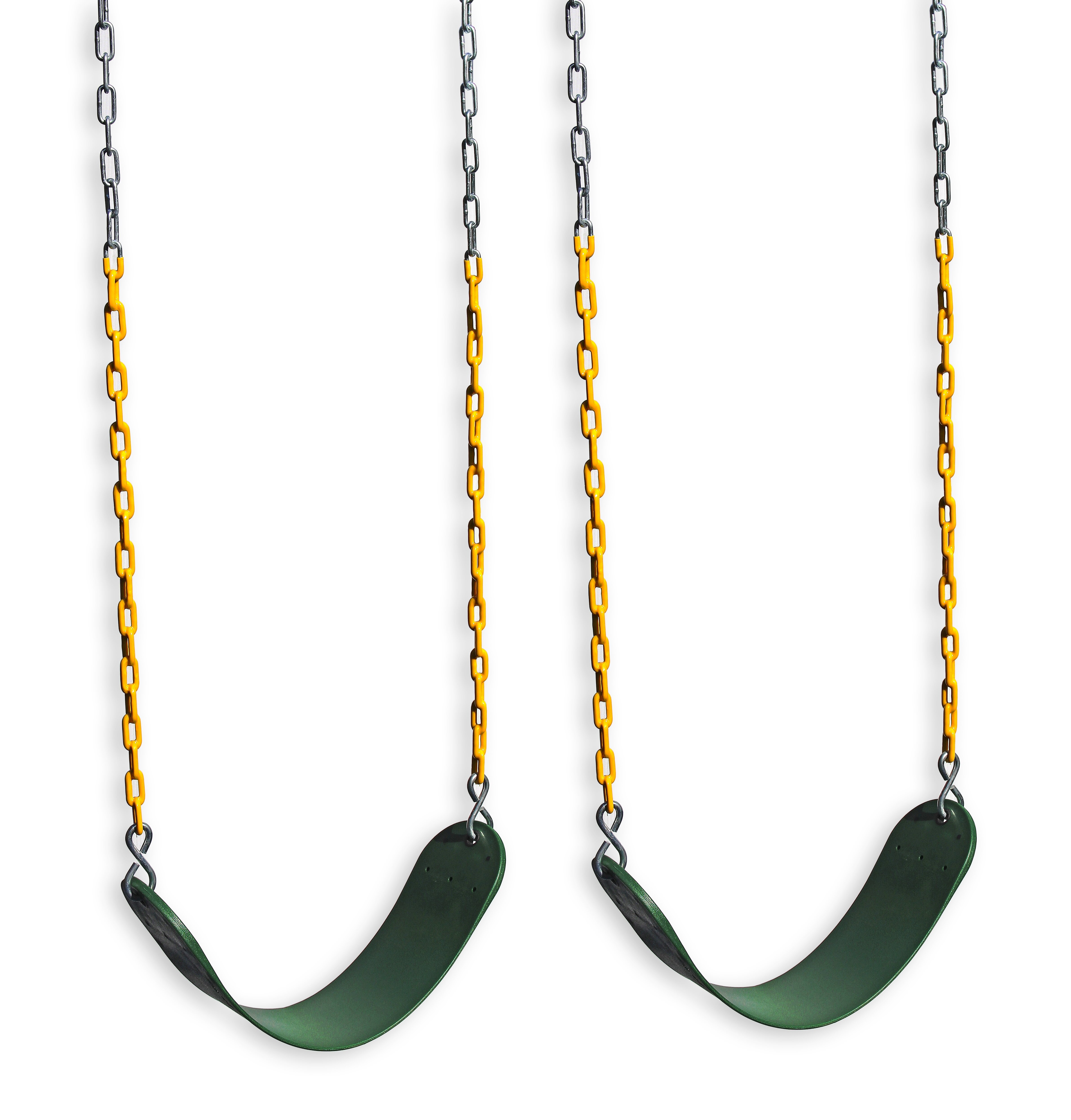 Eastern Jungle Gym 2 Outdoor Swing Seats For Playset Replacement