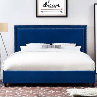 Bram Upholstered Platform Bed by Willa Arlo Interiors