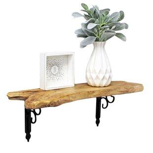 Bargain Cotswold Cedar Wood Wall Shelf ByFoundry Select