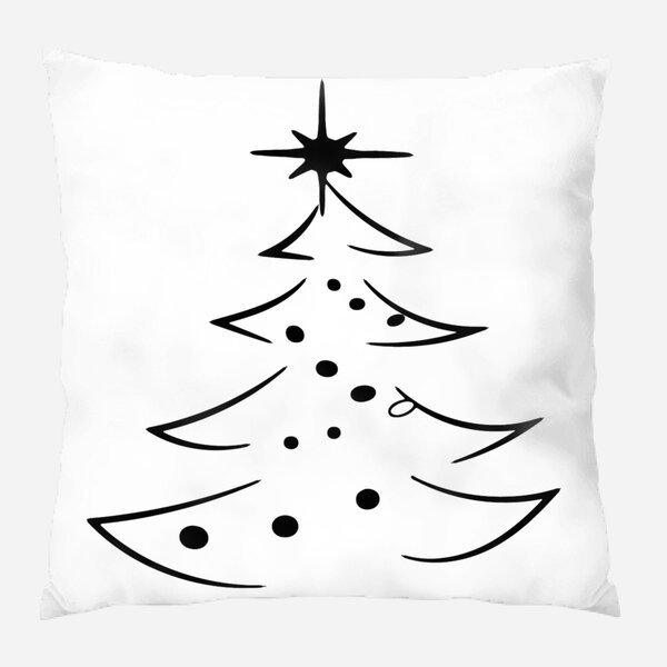 The Holiday Aisle Hearne Christmas Indoor Outdoor Canvas Throw Pillow Wayfair