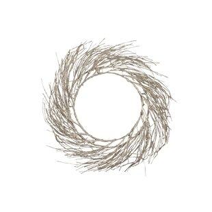 Glitter 75cm Lighted Wreath By The Seasonal Aisle