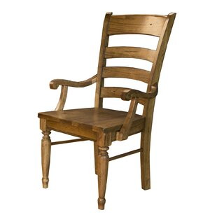 Ian Solid Wood Dining Chair (Set of 2) by..