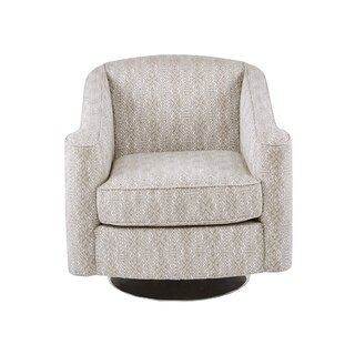 Weddington Swivel Armchair by Bungalow Rose SKU:DE414122 Price Compare