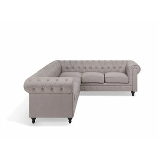 Easingwold Chesterfield Corner Sofa By Ophelia & Co.