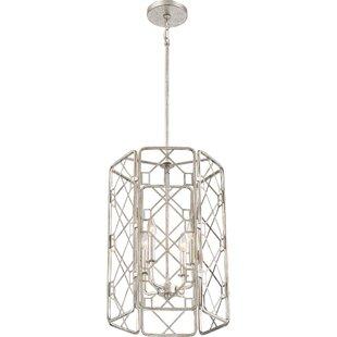 Roshan 4-Light Geometric Chandelier by Mercer41