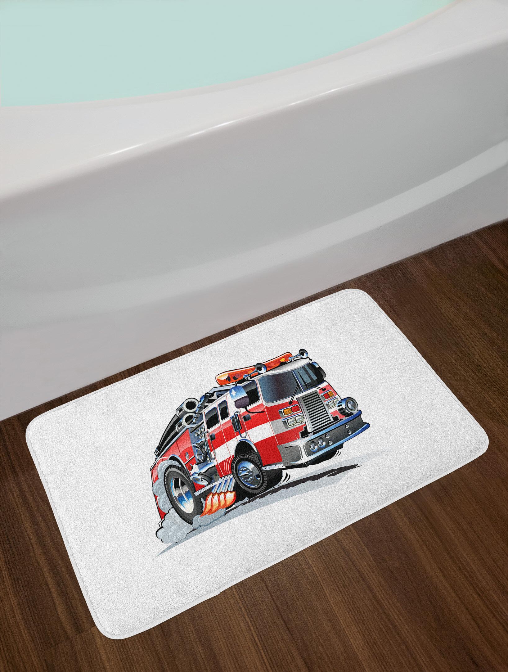 Ambesonne Truck Bath Mat