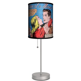 Affordable Price Palmeri Almost is Never 19 Table Lamp By Ebern Designs