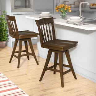 Ines 24.5 Square Swivel Bar Stool