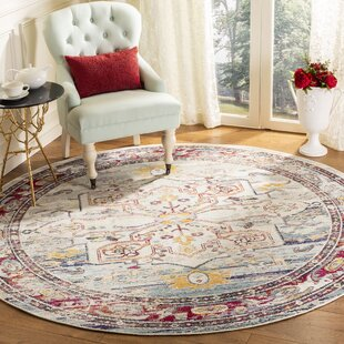 Lavine Red Area Rug by World Menagerie