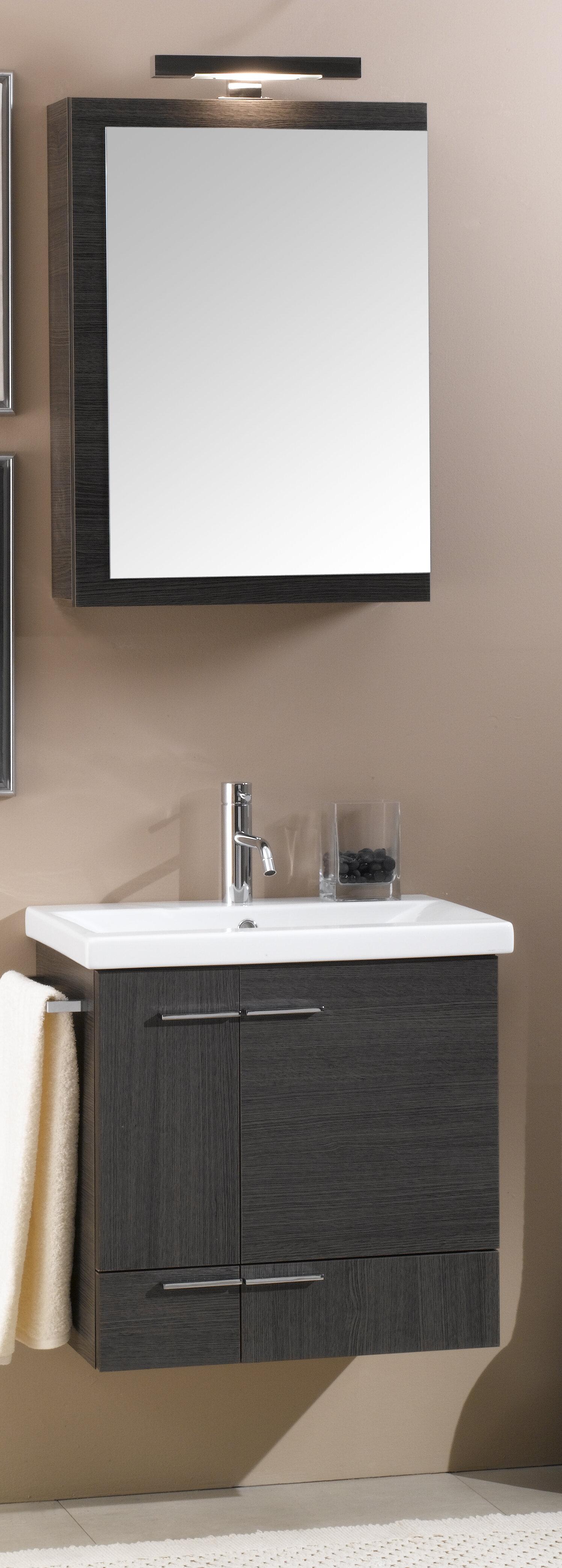 easy wall hung bathroom vanities cabinets. Iotti by Nameeks Simple 23  Single Wall Mounted Bathroom Vanity Set with Mirror Reviews Wayfair