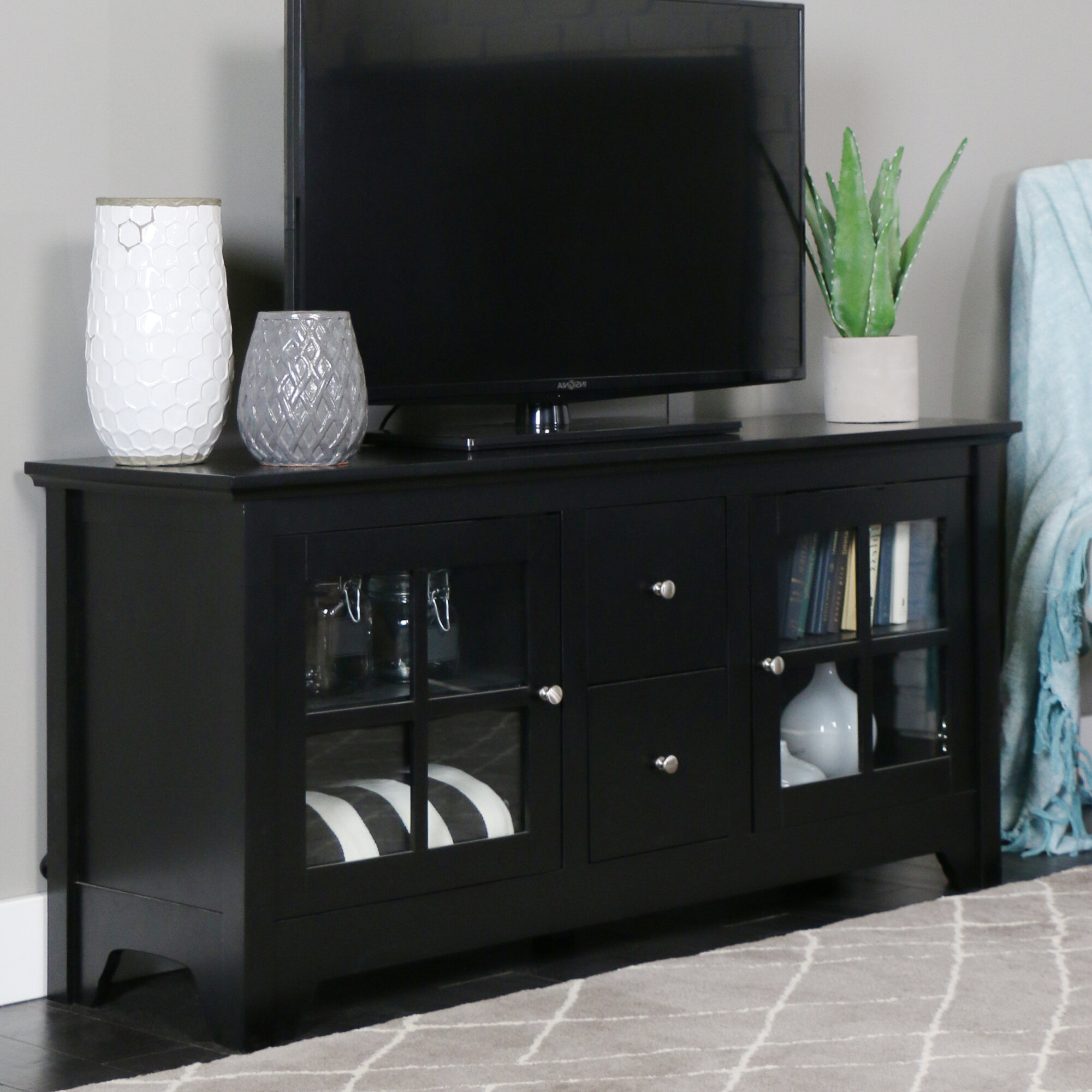 "Darby Home Co Poulson TV Stand for TVs up to 60"" & Reviews 