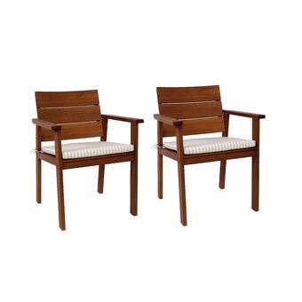 Brighton Patio Furniture.Brighton Patio Dining Chair With Cushion Reviews Allmodern