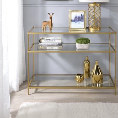 Gold Console Tables You Ll Love In 2020 Wayfair