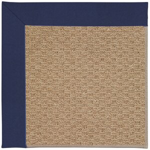 Zoe Machine Tufted Navy and Beige Indoor/Outdoor Area Rug