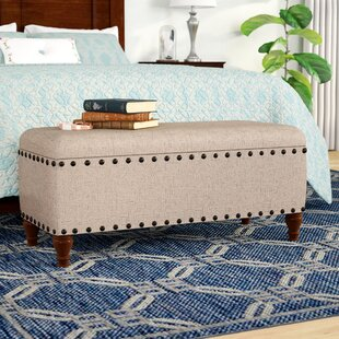 Affordable Sasha Upholstered Storage Bench By Charlton Home
