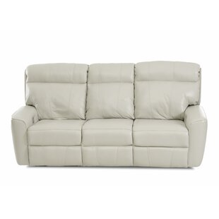 Chau Solid Power Reclining Sofa by Red Barrel Studio New