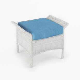 Forever Patio Rockport Ottoman with Cushion
