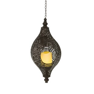 Olsen 1 Light Outdoor Hanging Lantern By World Menagerie