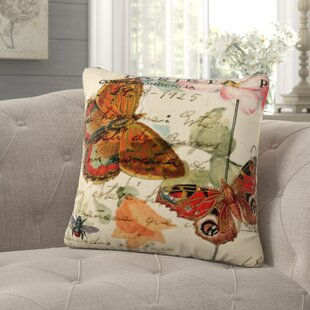 Wakeman Romantico Cotton Throw Pillow