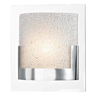Colchester 1-Light LED Bath Sconce by Ivy Bronx