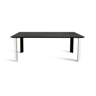 Esther Solid Wood Dining Table by Loon Peak