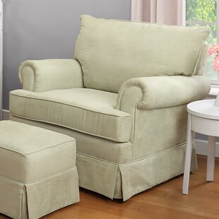 Grand Royale Swivel Glider and Ottoman by Thomasville Kids