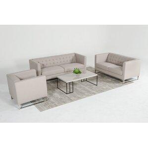 Alsatia 3 Piece Living Room Set by Wade Logan