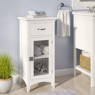 Beachcrest Home Keltner 1 Drawer Floor Accent Cabinet