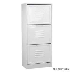 18 Pair Shoe Storage Cabinet By Rebrilliant