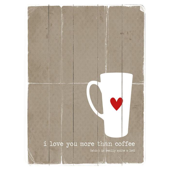 Artehouse Llc I Love You More Graphic Art Print Multi Piece Image On Wood Wayfair