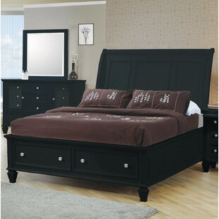 Shirely Storage Platform Bed b..