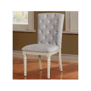 Karson Upholstered Dining Chair (Set of 2) Rosdorf Park