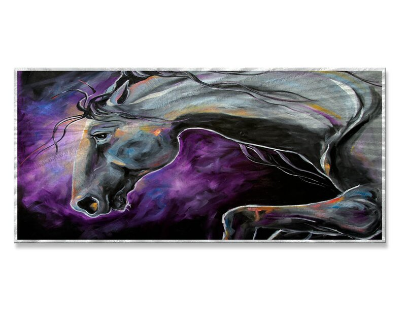 All My Walls Steed Night By Laurie Pace Painting Wayfair