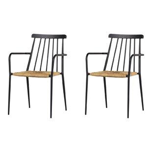 Bireuen Stacking Garden Chair (Set Of 2) By Sol 72 Outdoor