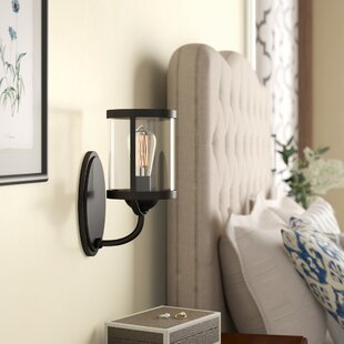 Top Reviews Salisbury 1-Light Armed Sconce ByBirch Lane™