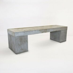 17 Stories Shelbi Concrete Bench