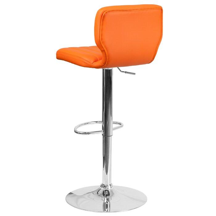 Marvelous Hellwig Adjustable Height Swivel Bar Stool Alphanode Cool Chair Designs And Ideas Alphanodeonline