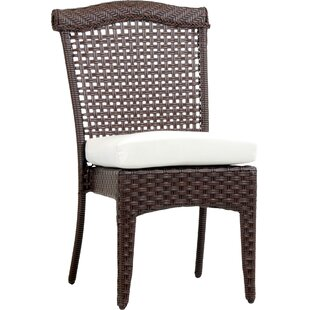 Allerdale Stacking Patio Dining Chair with Cushion