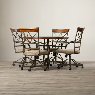 Villela 5 Piece Dining Set by Red Barrel ..