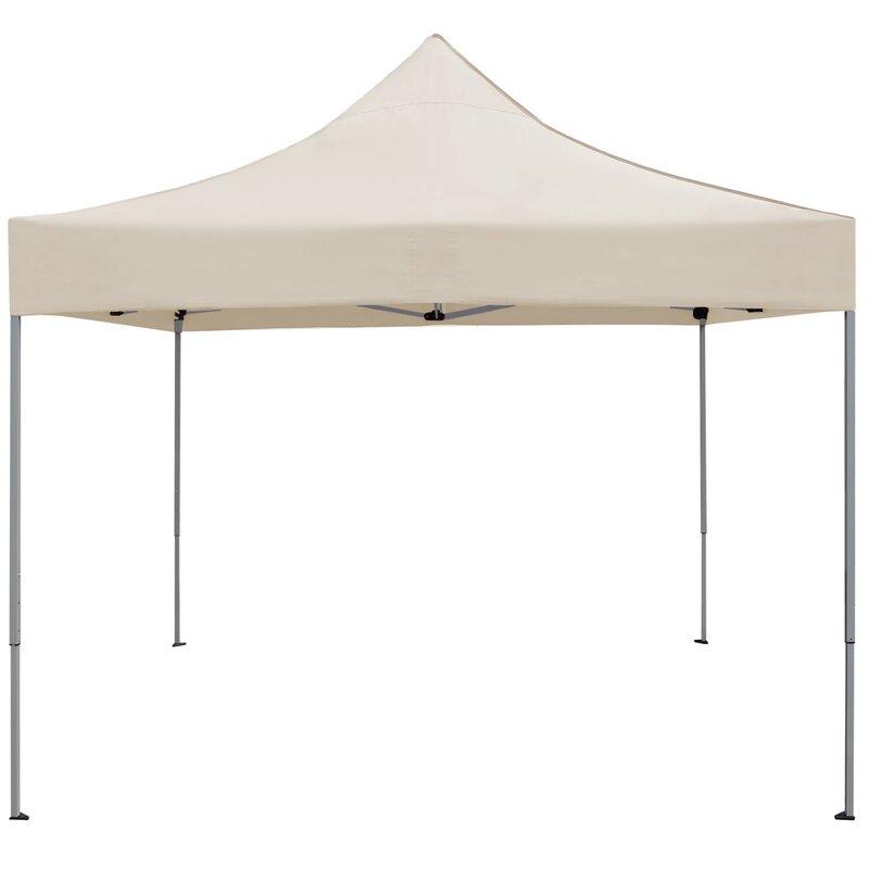 Devoko Commercial Instant Shelter 10 Ft W X 4 Ft D Steel Pop Up Canopy Reviews Wayfair
