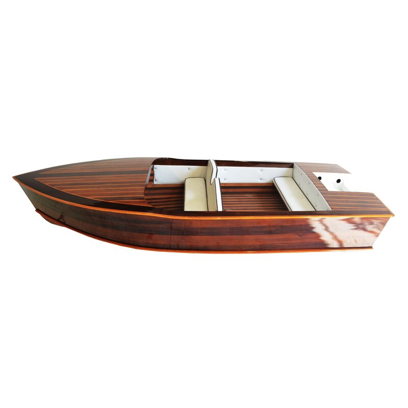 CHRIS CRAFT BARREL BACK BOAT WALL CLOCK-FREE USA SHIP!