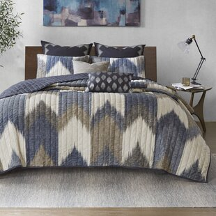Mcshan 3 Piece Printed Cotton Coverlet Set by Mercury Row Cool