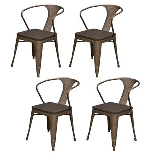 Racheal Solid Wood Dining Chair (Set of 4)