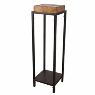 Union Rustic Pavlik Metal and Wood End Table
