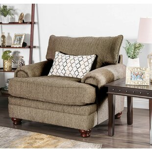 Fleur De Lis Living Brighouse Fabric Upholstered Cushioned Armchair
