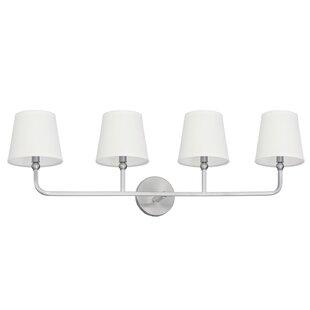 Climsland 4-Light Vanity Light By Three Posts Wall Lights