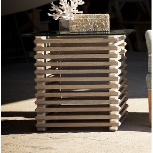 The Whiskey Plank Stacked End Table by MacKenzie-Dow Sale