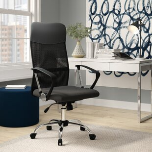 Berwick Mesh Conference Chair by Symple Stuff Great price