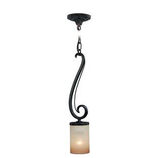 Fleur De Lis Living Brumback 1-Light Cylinder Pendant