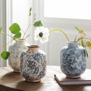 Blue And White Vases And Jars Wayfair